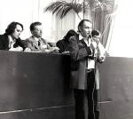 Gérard Klein à Metz en 1976 (photo de Didier Reboussin)